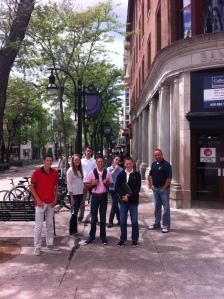 Best group pic on sidewalk