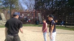 Sean and Samantha coin toss