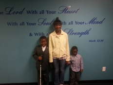 Norrail at Sunday School