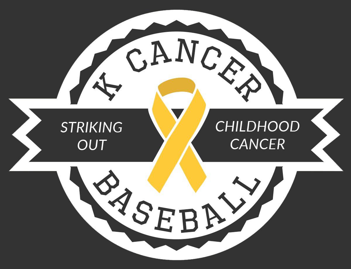 K Cancer Baseball
